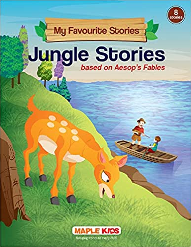 Jungle Stories (Illustrated) - My Favourite Stories 8 in 1 by Maple Press