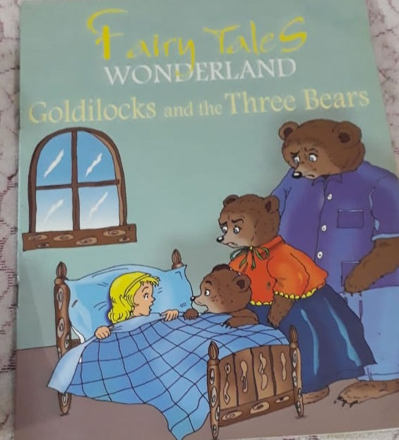 Fairy Tales Wonderland - Goldilocks and the three bears