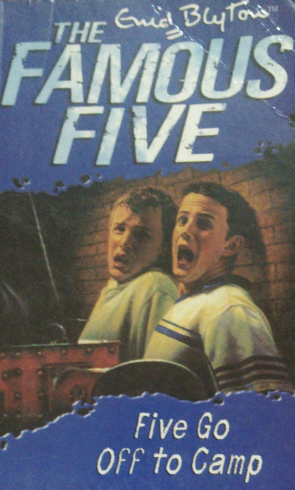 The Famous Five: Five Go Off To Camp By Enid Blyton