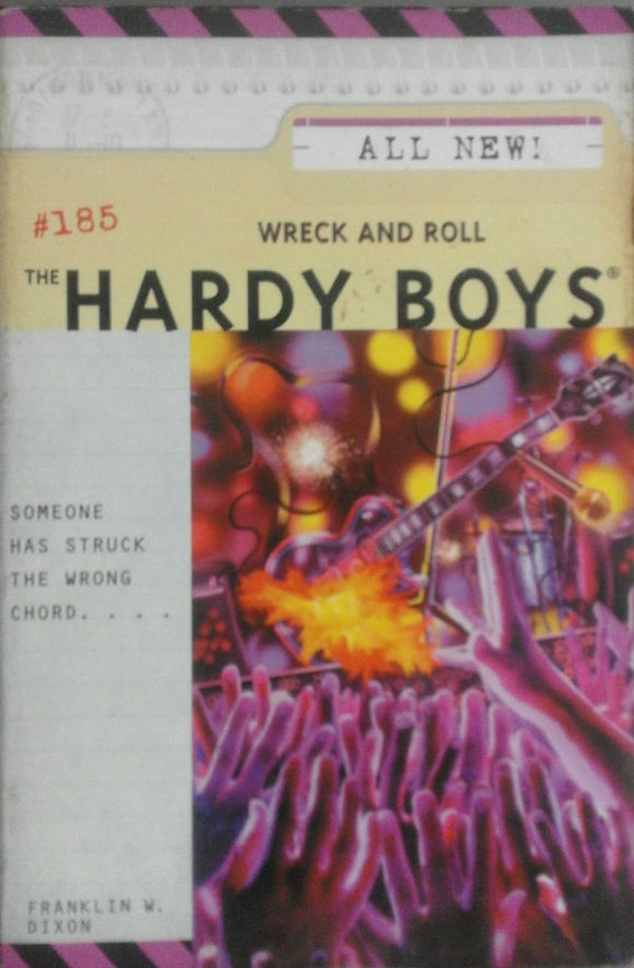 Wreck And Roll ( The Hardy Boys ) By Franklin W Dixon