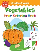 Vegetables Copy Colouring Book