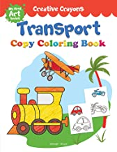 Transport Copy Colouring Book