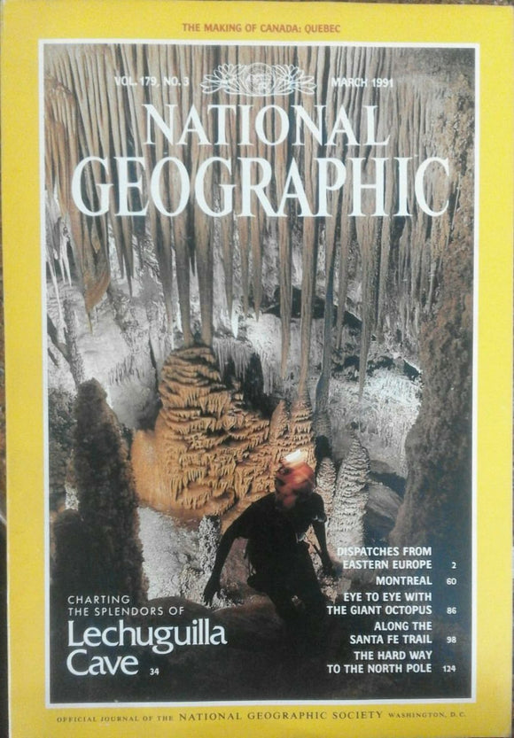 National Geographic Mar 1991