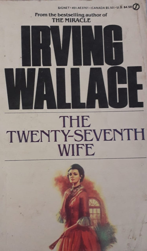 The Twenty-Seventh Wife by Irving Wallage