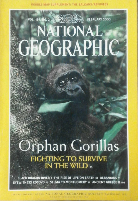 National Geographic Feb 2000