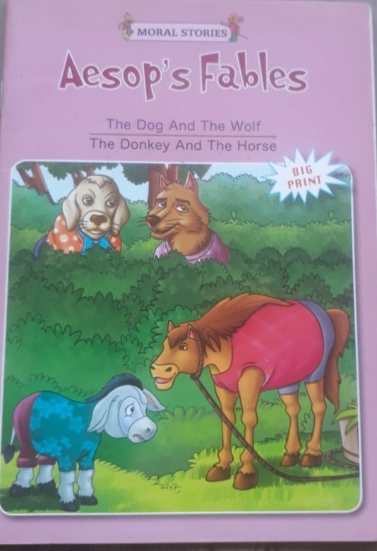 Aesop's Fables - The Dog and the Wolf and the donkey and the horse