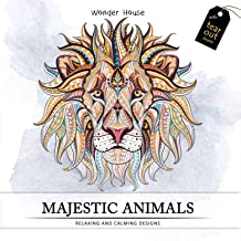 Majestic Animals: Colouring Books for Adults