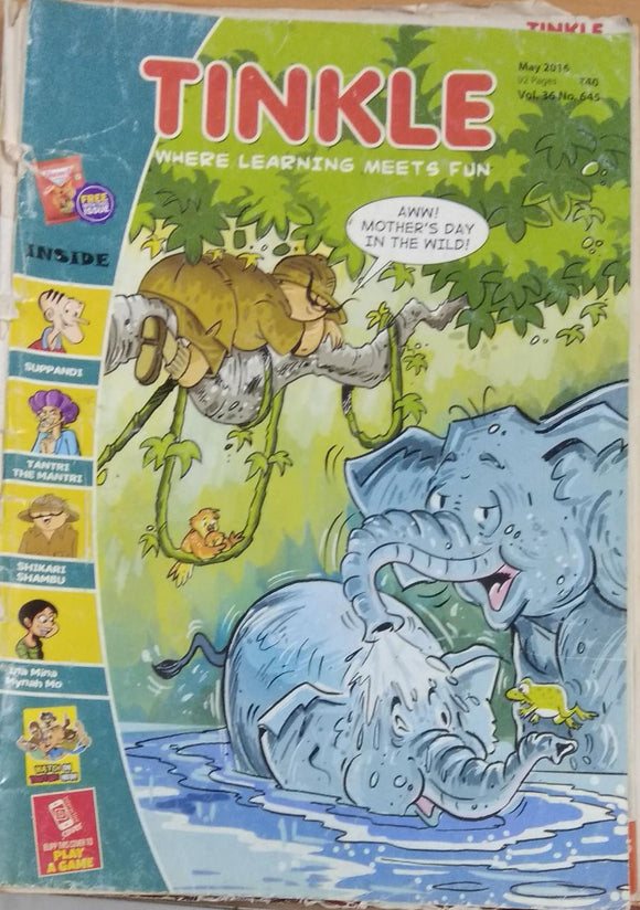 Tinkle May 2016 vol 36 no 645