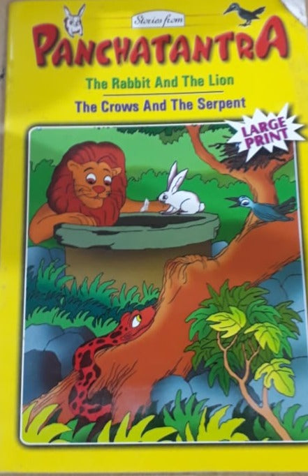 Panchatntra - The Rabbit and the lion and the crows and the serpent