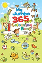 My Jumbo 365 Page Colouring Book