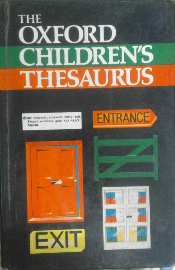 The Oxford Children's Thesaurus By Alan Spooner