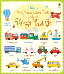 First picture word book things that move