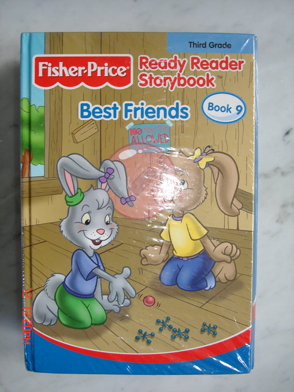 Fisher -Price Ready Reader story Book Best Friends
