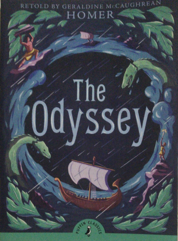 The Odyssey By Geraldine McCaughrean Homer