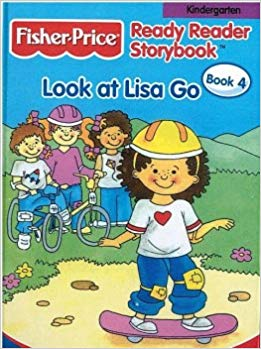 Fisher -Price Ready Reader story Book Look at Lisa Go-4