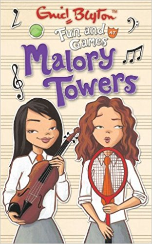 Fun and Games at Malory Towers by Enid Blyton