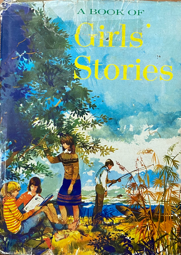A Book of Girl Stories by Golden Peasure Books (1966)