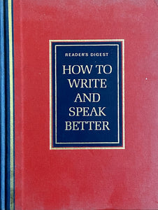 How to Write and Speak Better - Readers Digest