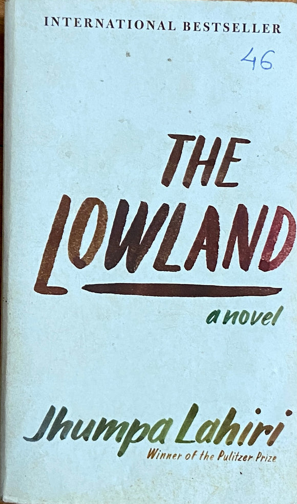 The Lowland by Jhumpa Lahiri