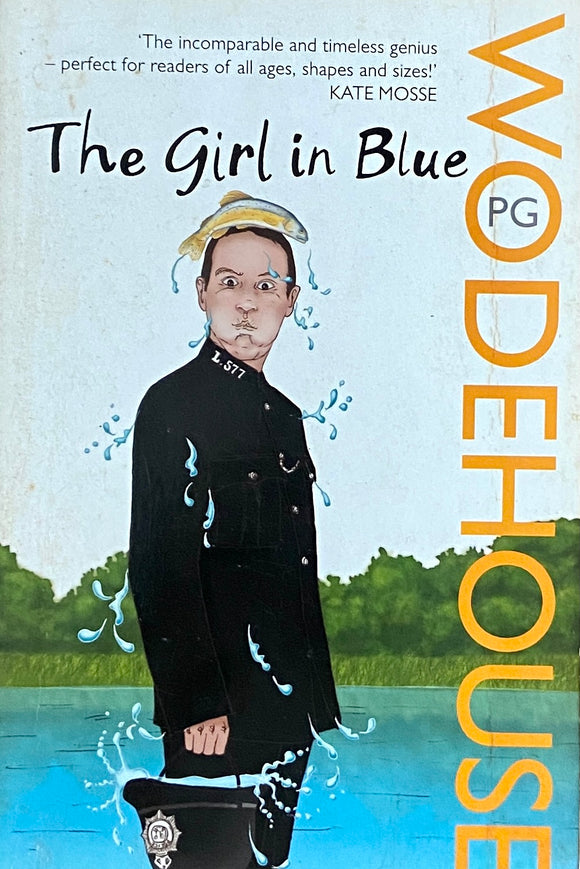 The Girl in Blue by P G Woodhouse