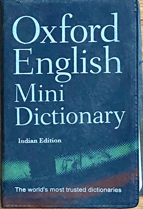 Oxford English Mini Dictionary