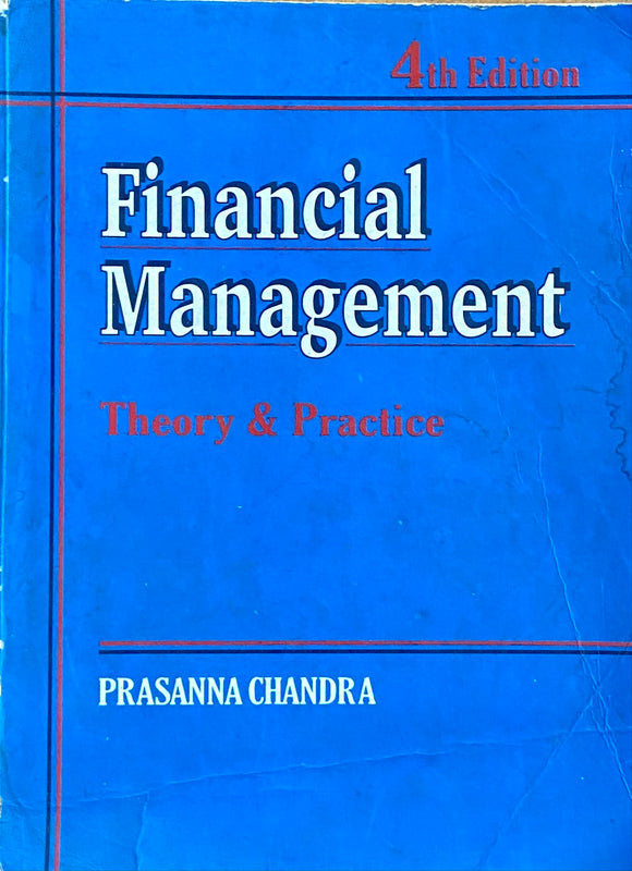 Financial Management by Prasanna Chandra
