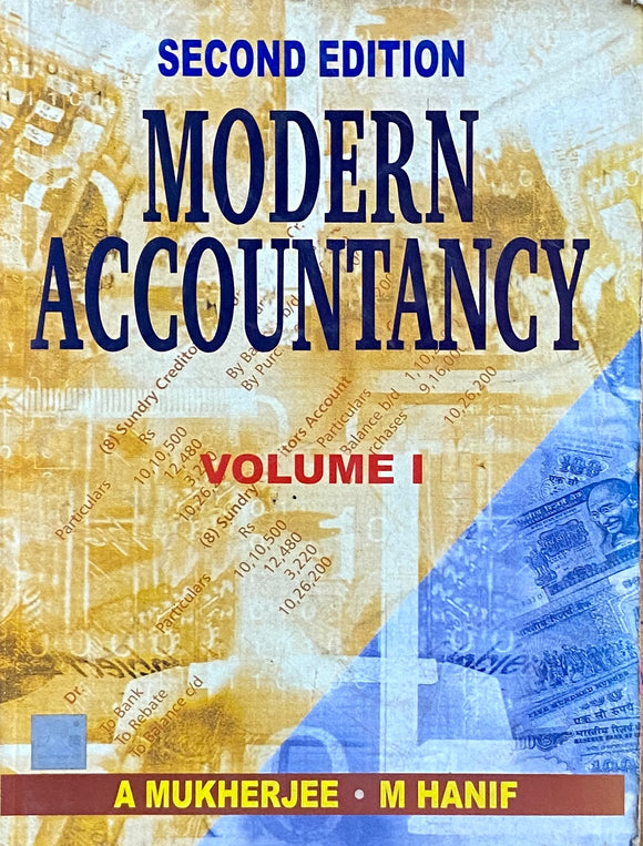 Modern Accountancy by A Mukherjee, M Hanif