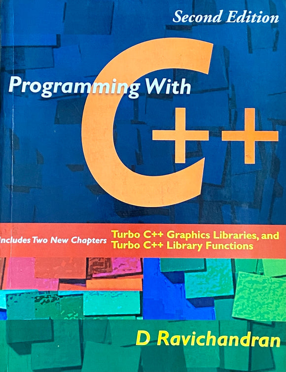 Programming with C++ by D Ravichandran