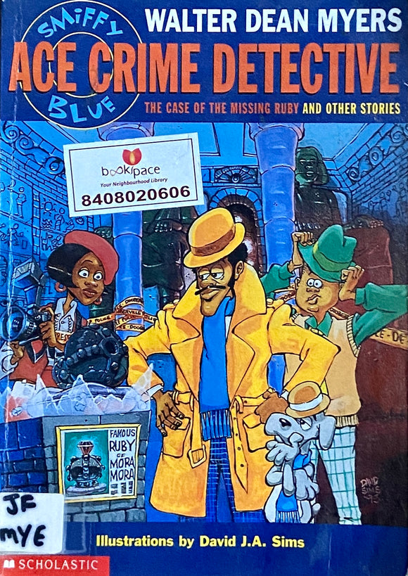 Ace Crime Detective by Walter Dean Myers