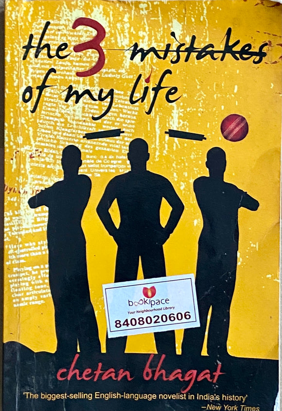 The Three Mistakes of My Life by Chetan Bhagat
