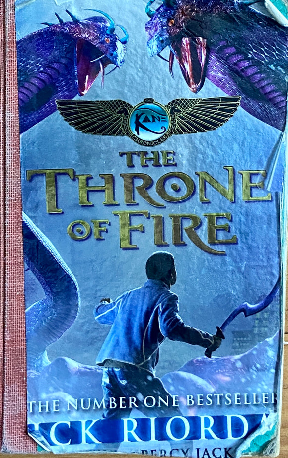 The Throne of Fire by Rick Riordan (Library Binding)