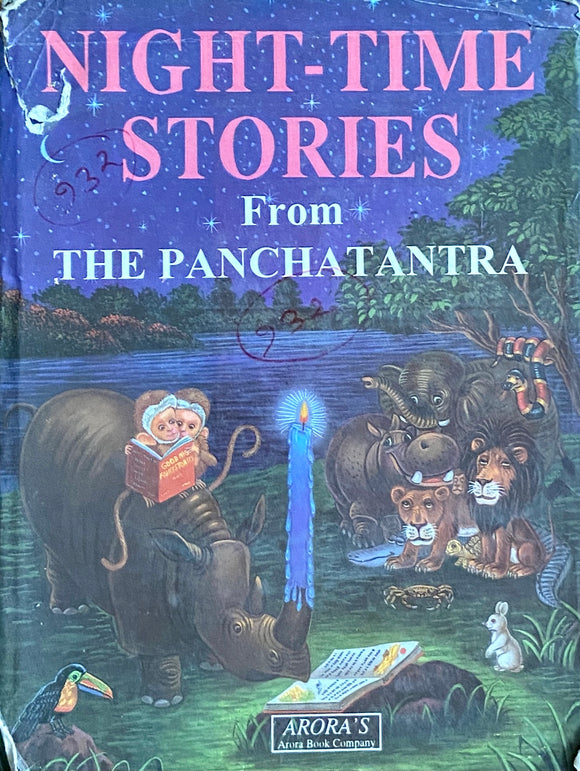 Night Time Stories from the Panchatantra (Hard Cover)
