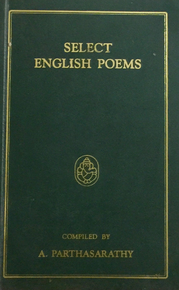 Select English Poems Compiled by A Parthasarathy