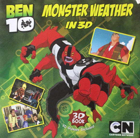 Ben 10 Monster Weather in 3 D (without 3D Glasses)