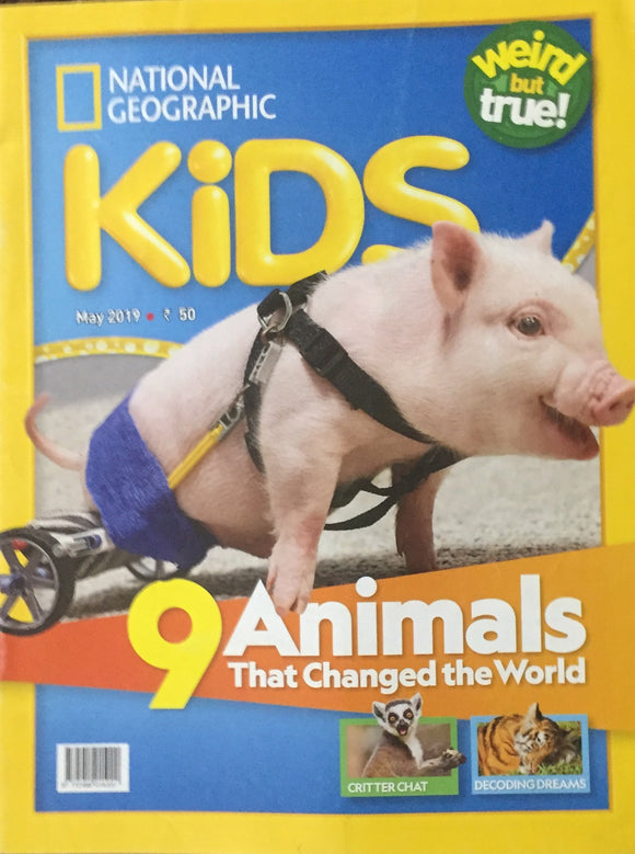 National Geographic Kids May 2019