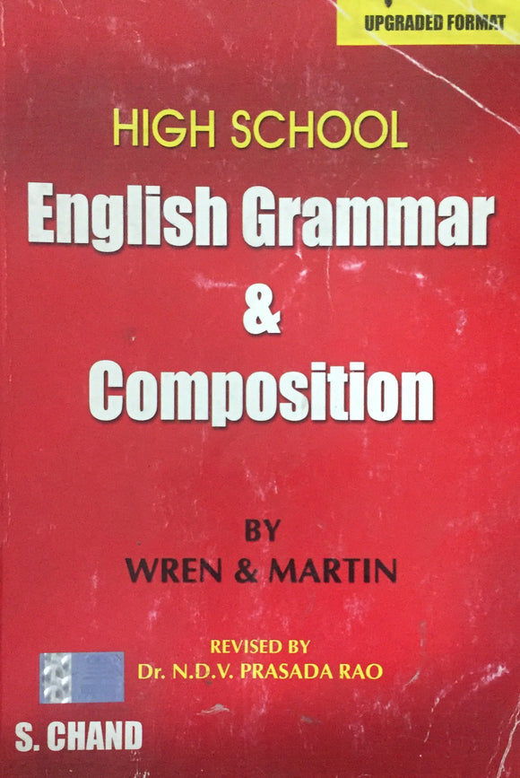 High School English Grammar & Composition by Wren and Martin