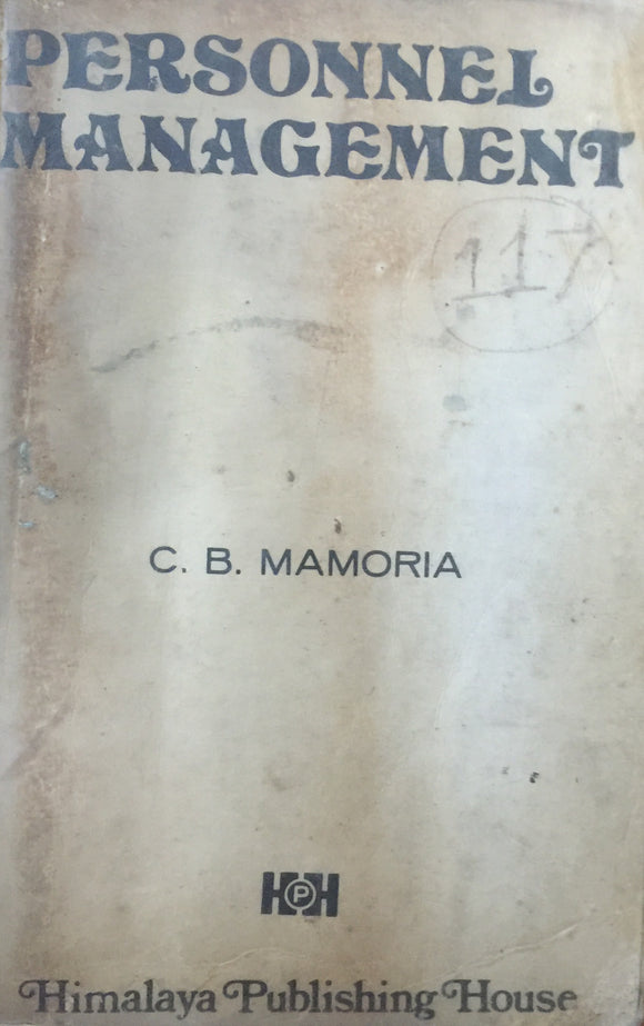 Personnel Management by C B Mamoria