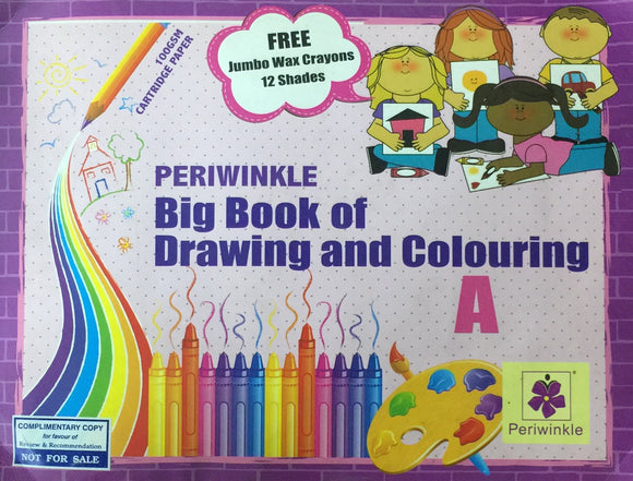 Big Book of Drawing and Colouring A