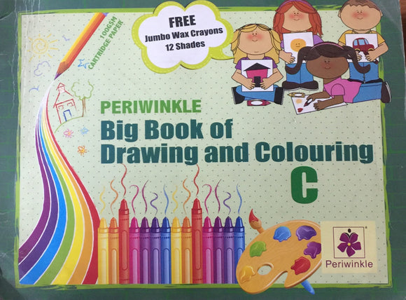 Big Book of Drwaing and Colouring C