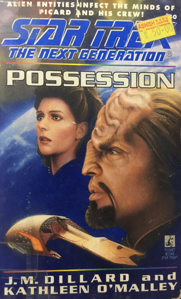 Star Trek - Possession by J M Dillard and Kathleen O'Malley