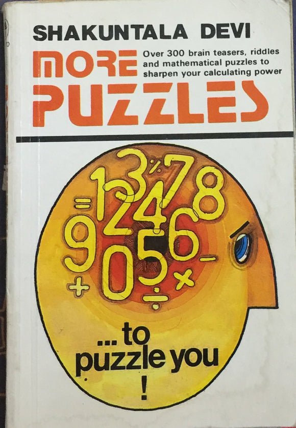 More Puzzles by Shakuntala Devi