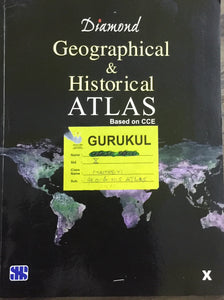 Diamond Geographical and Historical Atlas - Std X