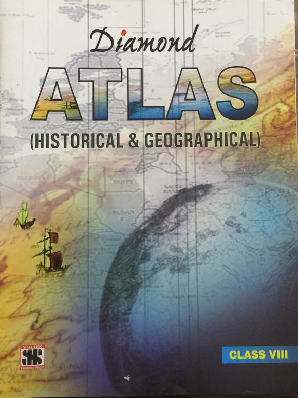 Diamond Geographical and Historical Atlas - Std VIII