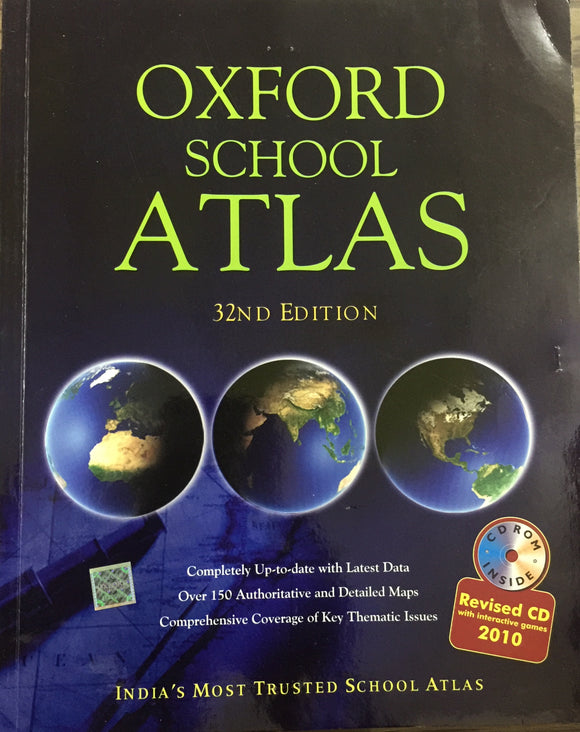Oxford School Atlas 32nd Edition