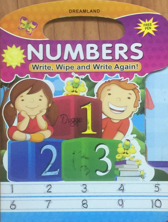Numbers (Write and Wipe)