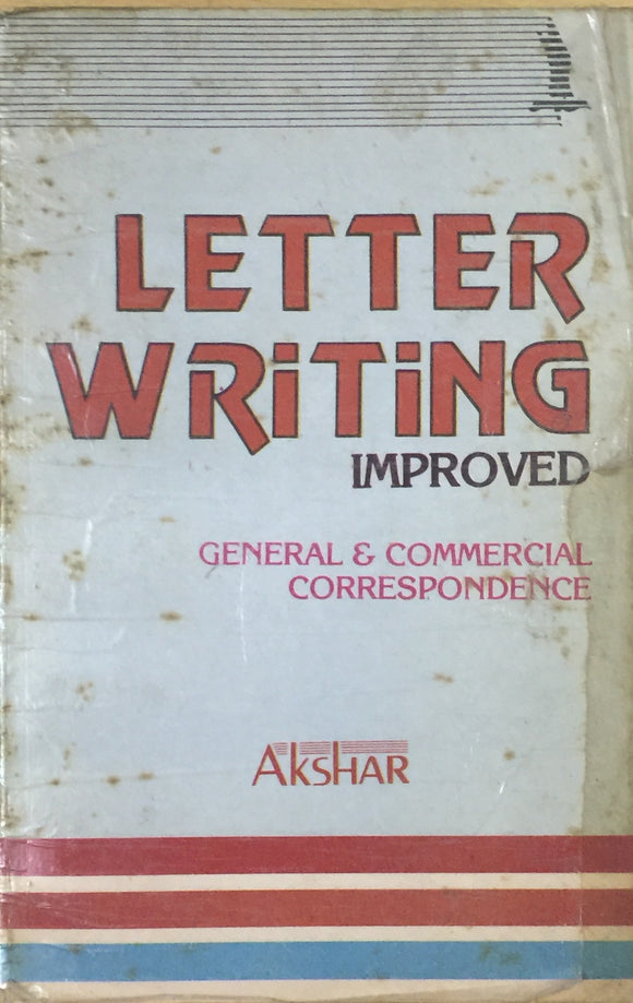 Letter Writing Improved by Nihal Chand Narayan