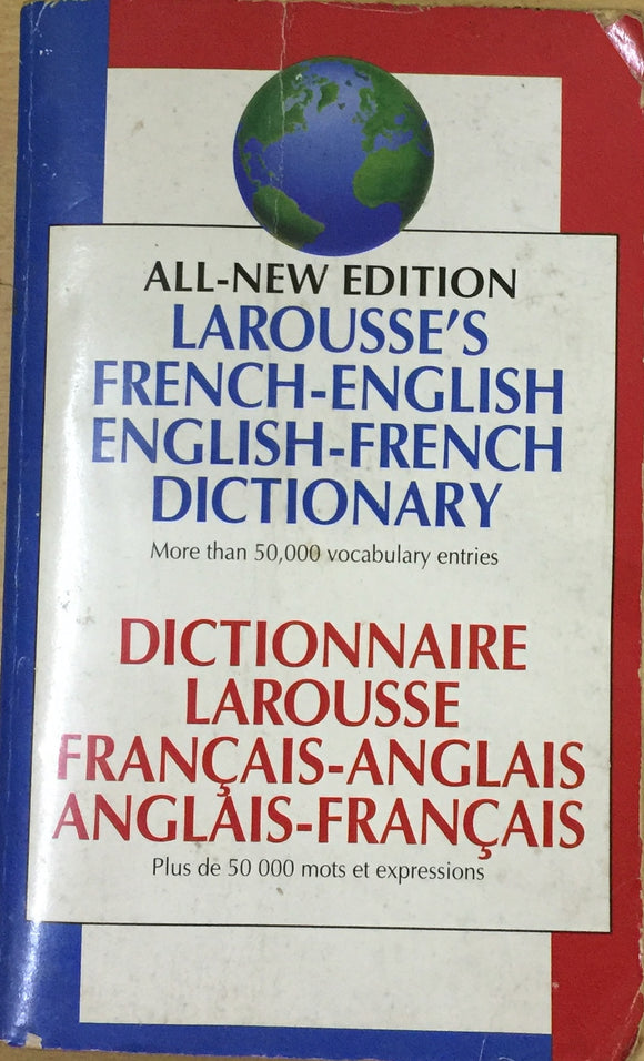 All New Larousse's English French Dictionary