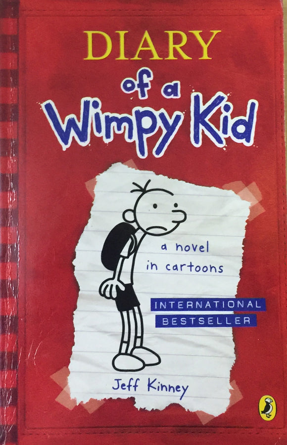 Diary of a Wimpy Kid - Novel in the Cartoons by Jeff Kinney
