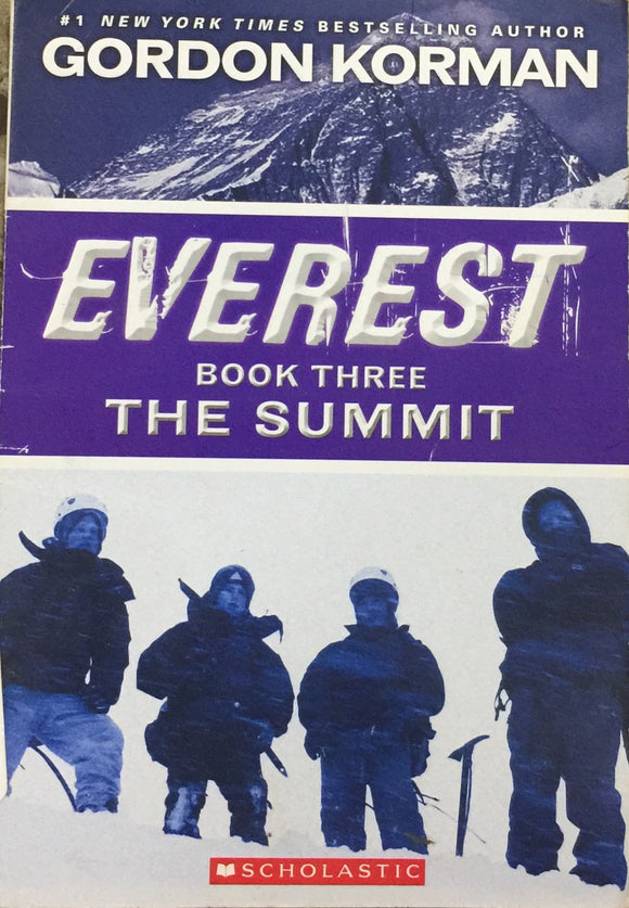 Everest Book 3 - The Summit by Gordon Korman