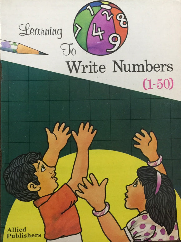Learning to Write Numbers (1 - 50)